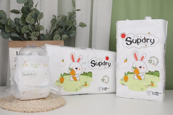 Supdry - thương hiệu tã giấy được tin dùng cho bé yêu tại Việt Nam - 1