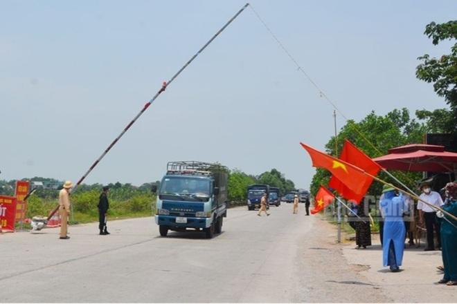 Bắc Giang dỡ lệnh cách ly xã hội huyện Lục Nam và Yên Thế - 1