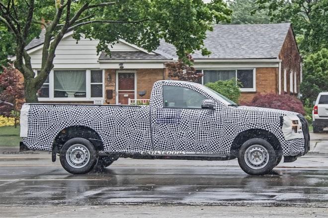 Ford Ranger thế hệ mới sẽ có thêm bản cabin đơn? - 1