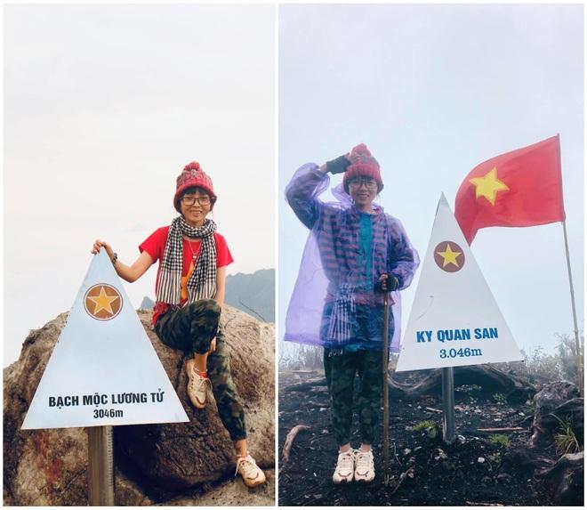 Cô kỹ sư nông nghiệp chinh phục 15 đỉnh núi cao ở Việt Nam trong 2 năm - 1