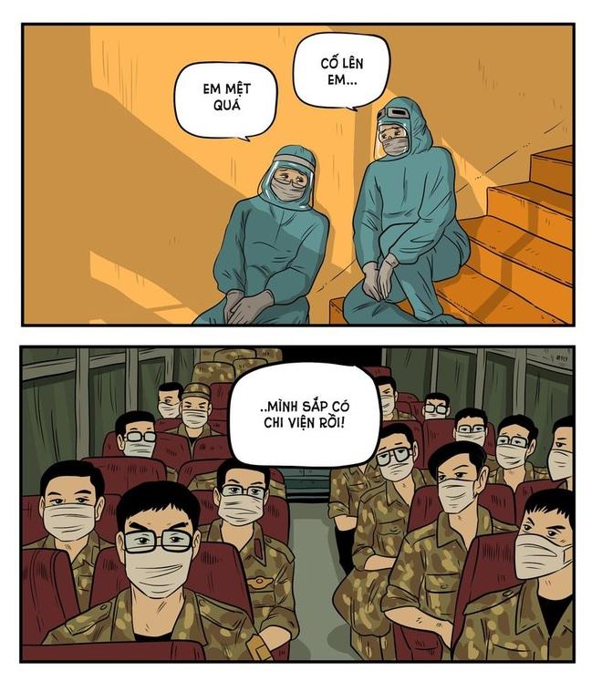 Họa sĩ 8X kể chuyện chống dịch Covid-19 bằng tranh - 6