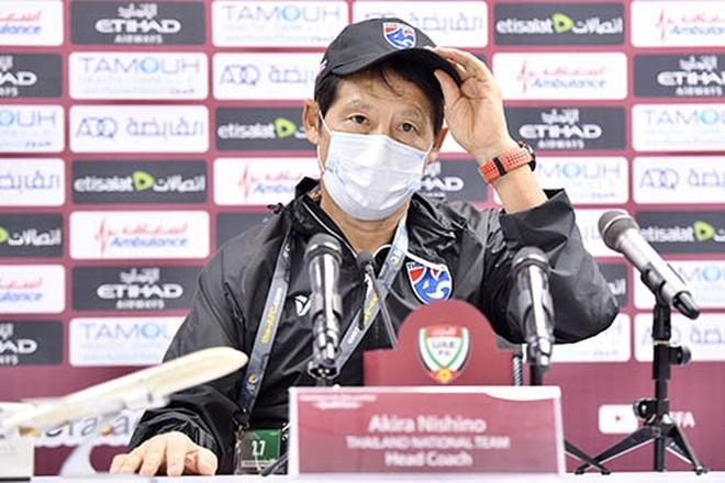 HLV Nishino tuyên bố đội tuyển Thái Lan quyết đánh bại UAE - 2