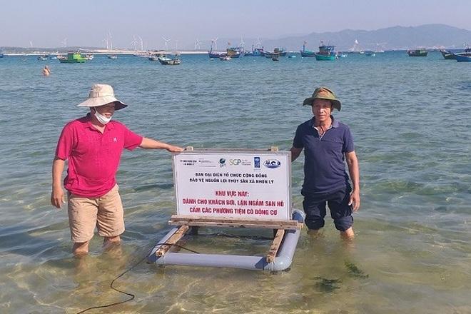 Thả, đặt phao tiêu bảo vệ 4 khu vực biển vịnh Quy Nhơn - 2