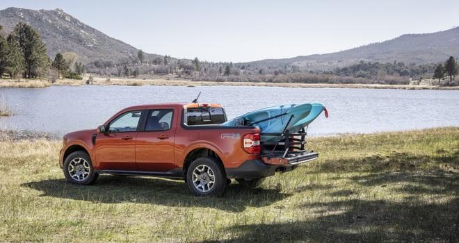 Ford ra mắt mẫu xe bán tải Maverick nhỏ hơn Ranger - 10