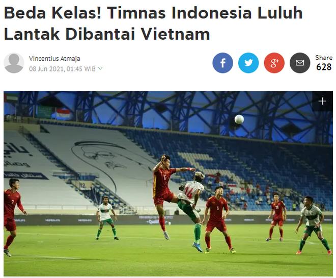 Báo Indonesia nói gì sau trận thua đậm trước đội tuyển Việt Nam? - 1