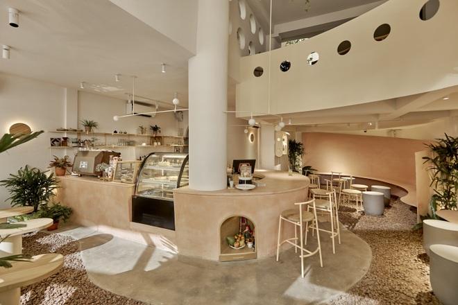 Quán cà phê như tổ chim khổng lồ, có mặt tiền biết chuyển động ở Sài Gòn - 2
