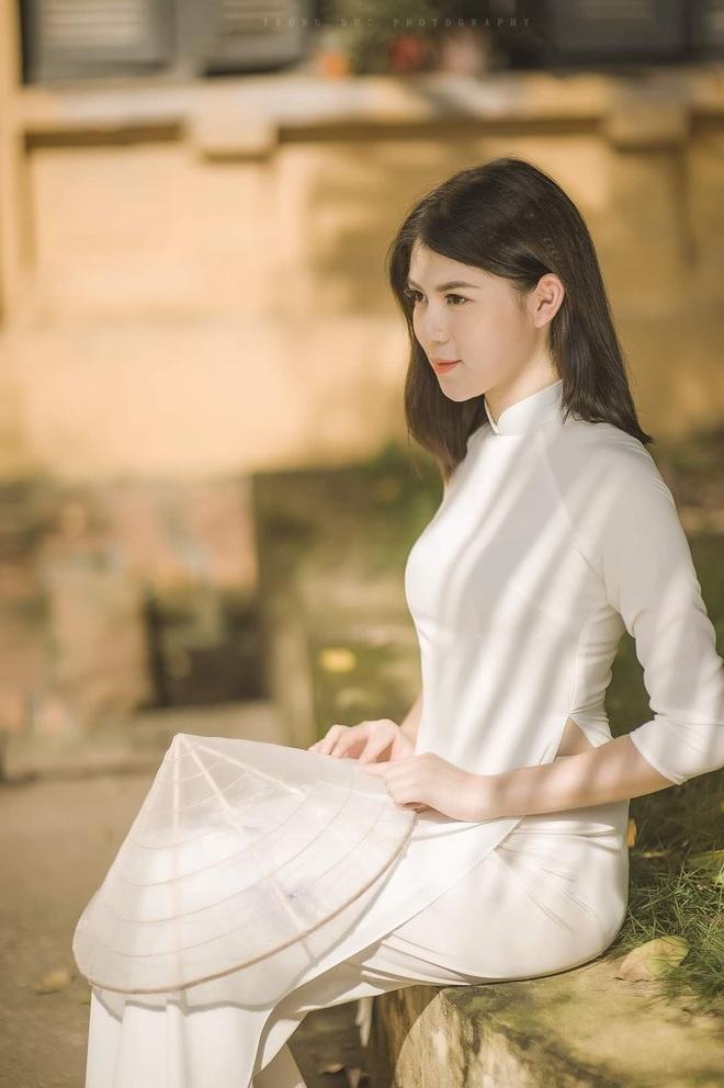 Vẻ đẹp giản dị mà say lòng người của nữ sinh Hà thành  - 12