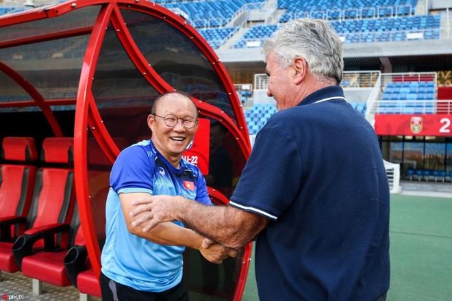 HLV Park Hang Seo đánh bại 4 đồng nghiệp từng cầm quân ở World Cup - 1