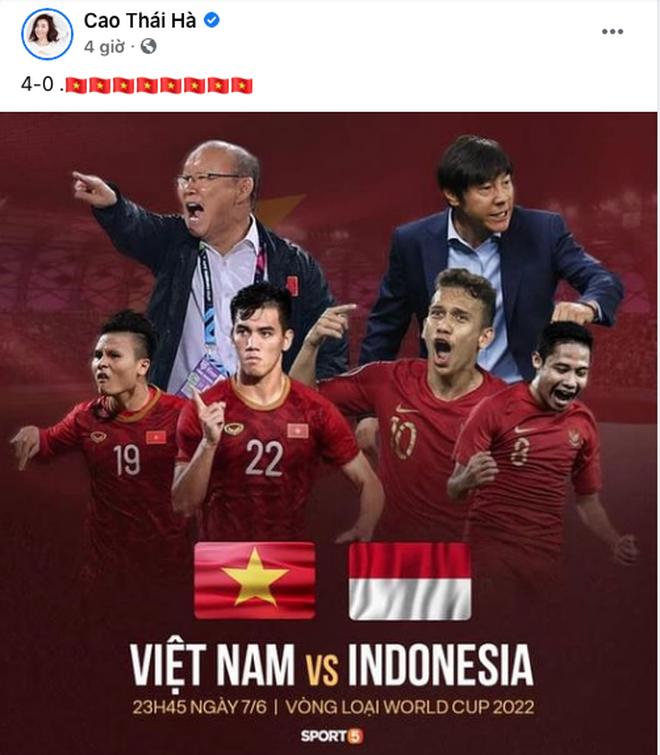 Chiến thắng 4-0 của đội tuyển Việt Nam khiến dàn sao rầm rộ bão online - 8