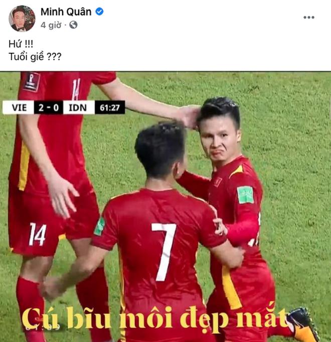 Chiến thắng 4-0 của đội tuyển Việt Nam khiến dàn sao rầm rộ bão online - 9