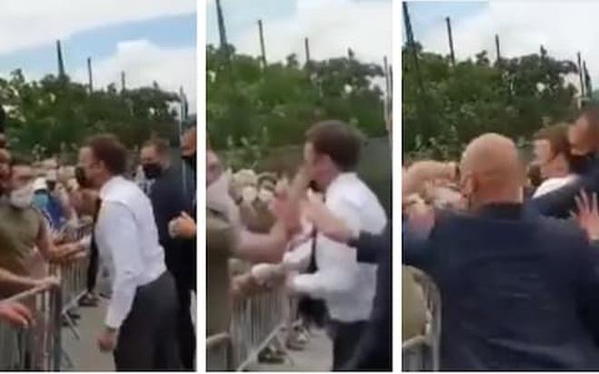 Pháp bắt kẻ bất ngờ tấn công Tổng thống Macron - 1