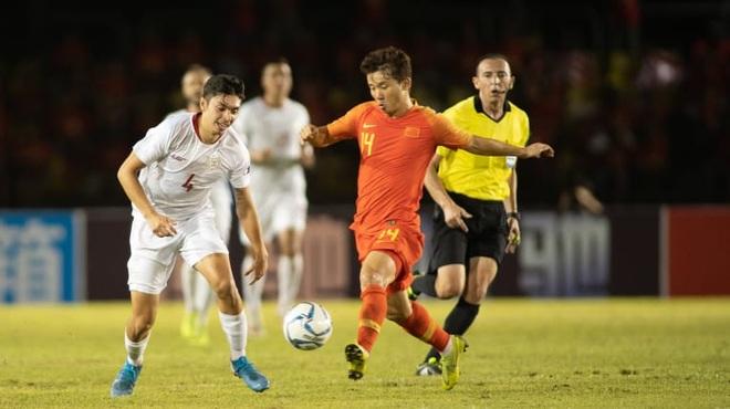 Đánh bại Philippines, đội tuyển Trung Quốc xây chắc ngôi nhì bảng - 1