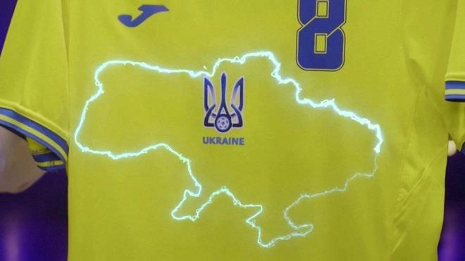 Nga phẫn nộ khi áo thi đấu EURO 2020 của Ukraine có bản đồ Crimea - 1