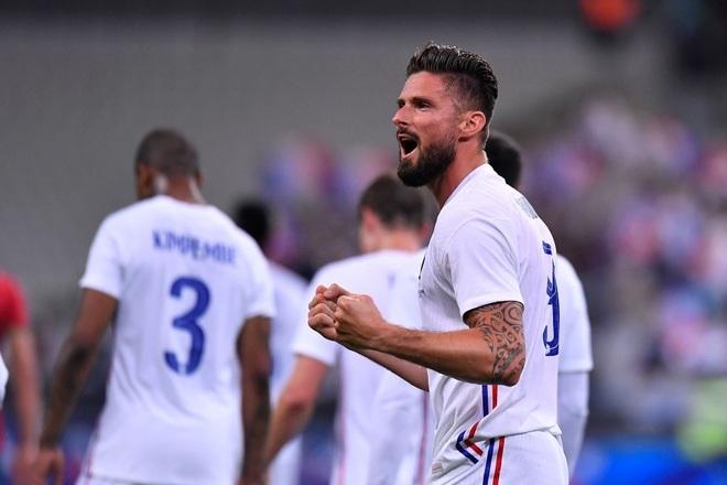 Giroud lập cú đúp, Pháp thắng đậm Bulgaria - 1