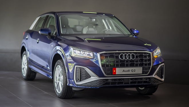 Audi Q2 bản 2021 chốt giá từ 1,68 tỷ đồng, đối thủ của BMW X1, Mercedes GLA