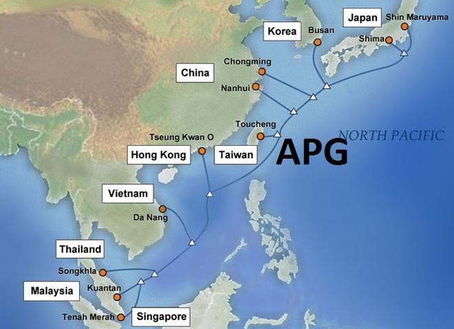 Hai tuyến cáp quang gặp sự cố, Internet Việt Nam đi quốc tế bị ảnh hưởng - 1