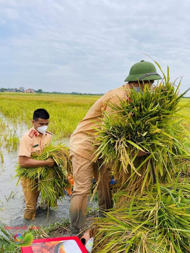 Những khoảnh khắc vượt nắng, thắng mưa của Công an Bắc Giang thời dịch - 7