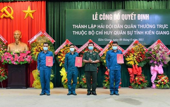 Thành lập Hải đội Dân quân thường trực tỉnh Kiên Giang - 1