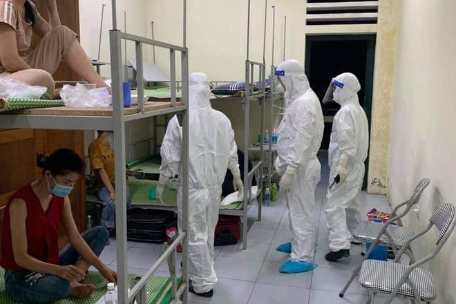 Bắc Giang: Các ca dương tính với SARS-CoV-2 ở khu công nghiệp đã hạ nhiệt - 1