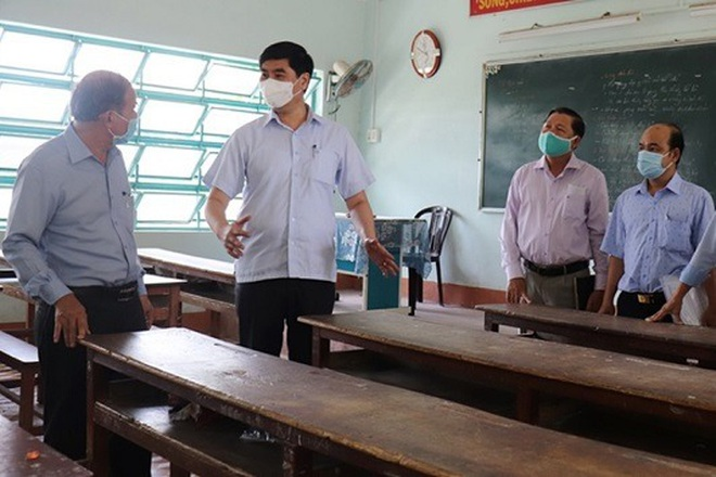 Bình Định: Mỗi điểm thi tuyển sinh lớp 10 bố trí ít nhất 2 nhân viên y tế - 2