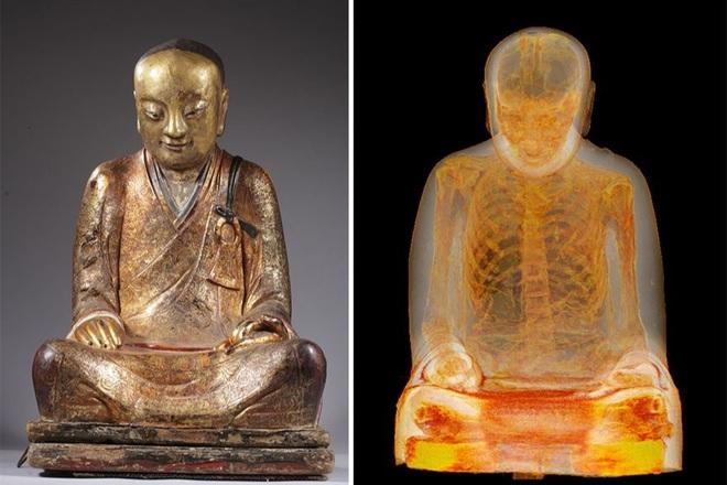 Phát hiện bí mật bên trong pho tượng Phật 1.000 năm tuổi - 2