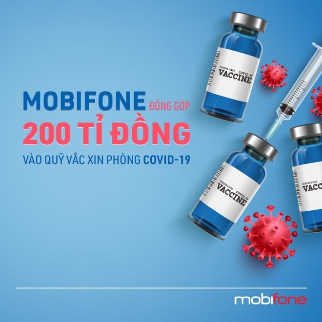 MobiFone đóng góp 200 tỷ đồng vào quỹ vắc xin phòng Covid-19 - 4