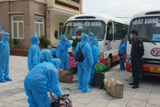 Bắc Giang lên kế hoạch đưa công nhân trở về các tỉnh thành - 1