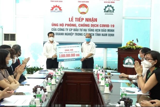 Nam Định sẽ ưu tiên tiêm vắc xin cho người lao động tại các khu công nghiệp - 1