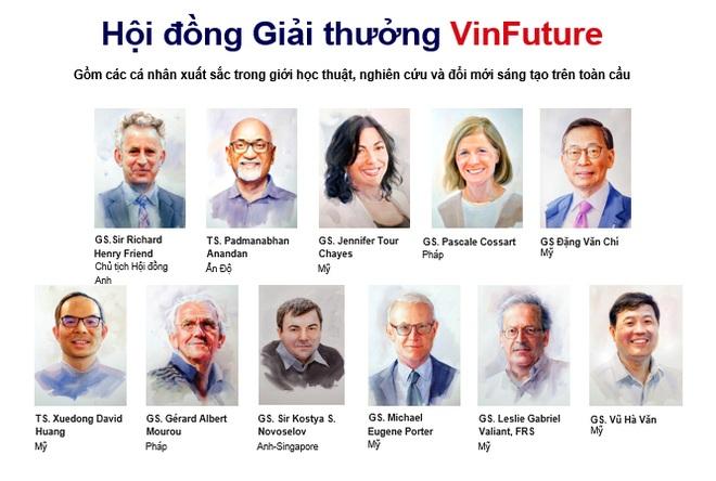Giới khoa học trên 60 quốc gia, 6 châu lục tranh giải giải thưởng VinFuture - 2
