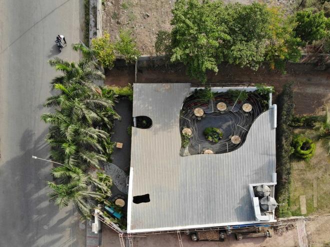 Quán cà phê sân vườn có thiết kế đẹp lạ, tiết kiệm điện năng - 2