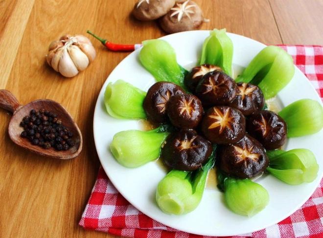 Đổi bữa với món cải chíp sốt nấm hương - 1