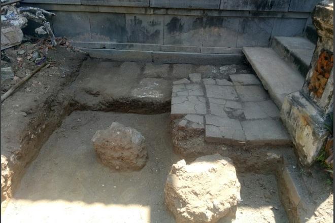 Khảo cổ ngôi điện đặt ngai vàng vua Nguyễn: Xuất lộ nhiều dấu tích xưa - 5