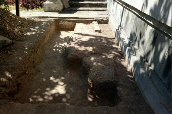 Khảo cổ ngôi điện đặt ngai vàng vua Nguyễn: Xuất lộ nhiều dấu tích xưa - 8