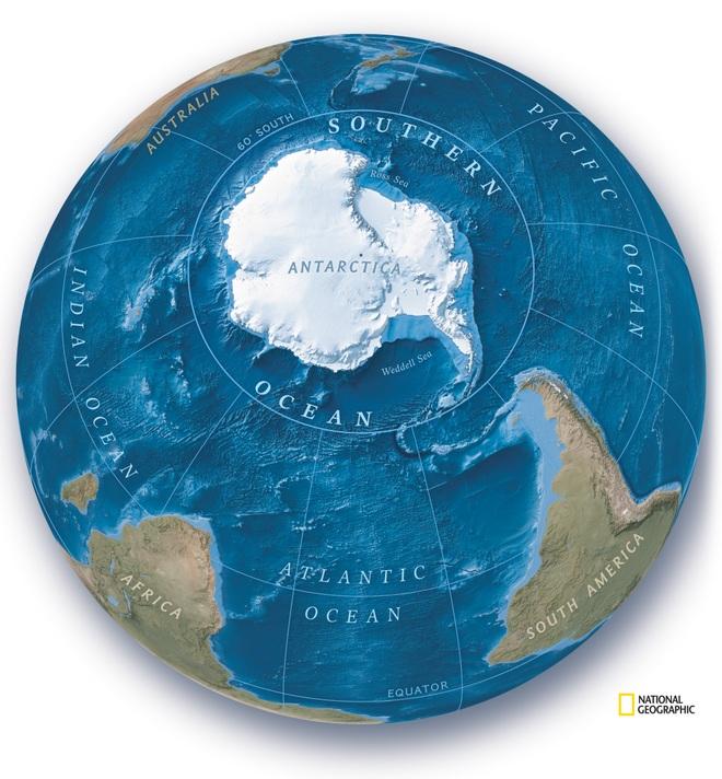 Nam Đại Dương - Đại dương thứ 5 của Trái đất chính thức được công nhận - 2