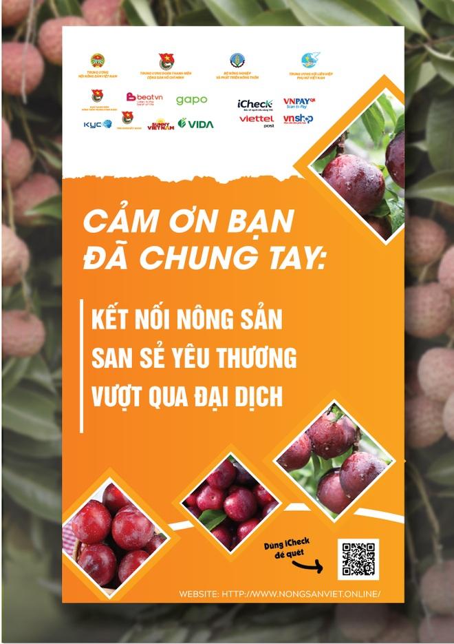 Doanh nghiệp, nghệ sĩ đồng hành cùng nông sản Việt chốt hơn 5000 đơn trong một ngày - 3