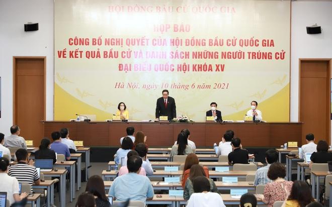 Công bố danh sách 499 người trúng cử đại biểu Quốc hội khóa XV - 1
