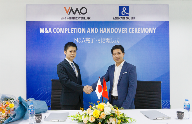 VMO Holdings và Agricare Group đã hoàn tất thương vụ MA - 1