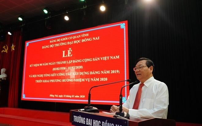 Thu chi sai hàng chục tỉ đồng, hiệu trưởng Đại học Đồng Nai bị cắt chức - 1