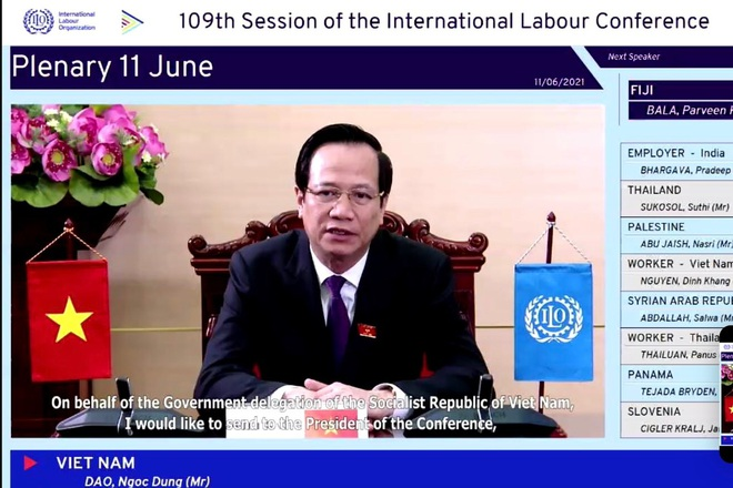 Bộ trưởng Đào Ngọc Dung: Con người là trung tâm phục hồi sau dịch Covid-19 - 1
