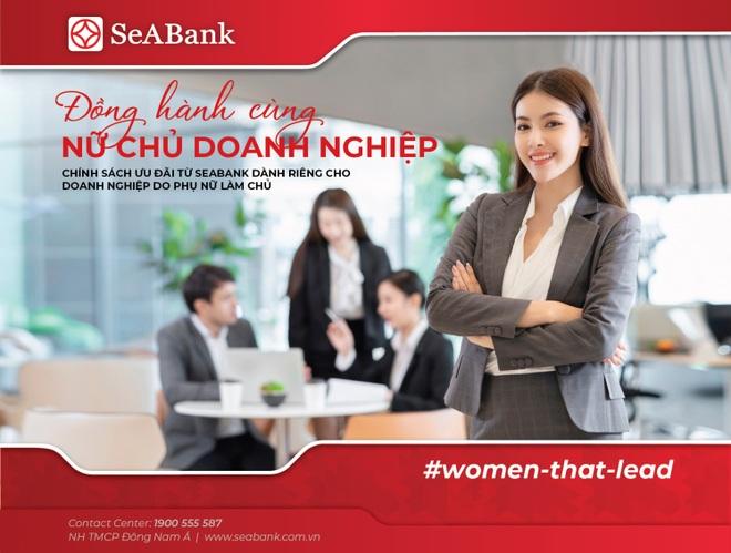 SeABank đồng hành cùng nữ chủ doanh nghiệp với nhiều ưu đãi đặc biệt - 1