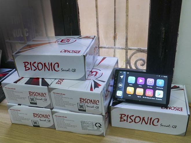 Màn hình Android cho ô tô Bisonic: Thương hiệu của thời đại - 4