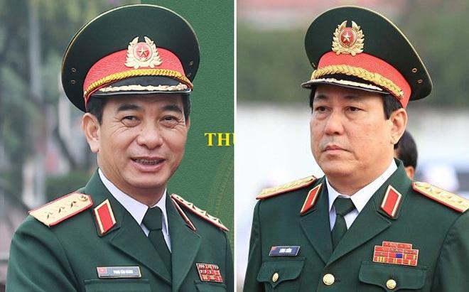 32 tướng lĩnh quân đội trong danh sách 499 đại biểu Quốc hội khóa XV - 1