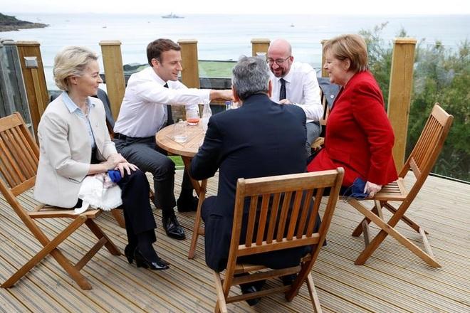 Ảnh hậu trường cuộc gặp gỡ của lãnh đạo G7 sau 2 năm đại dịch - 9