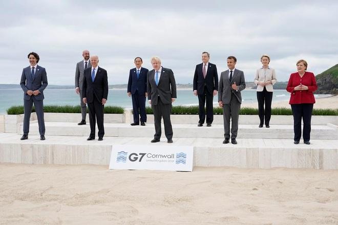 Ảnh hậu trường cuộc gặp gỡ của lãnh đạo G7 sau 2 năm đại dịch - 1