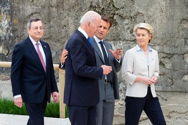 Ảnh hậu trường cuộc gặp gỡ của lãnh đạo G7 sau 2 năm đại dịch - 4
