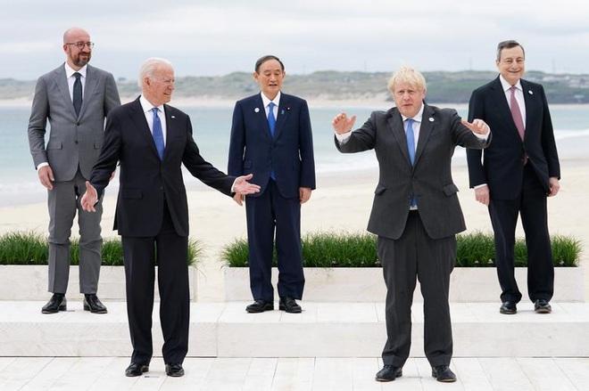 Ảnh hậu trường cuộc gặp gỡ của lãnh đạo G7 sau 2 năm đại dịch - 2