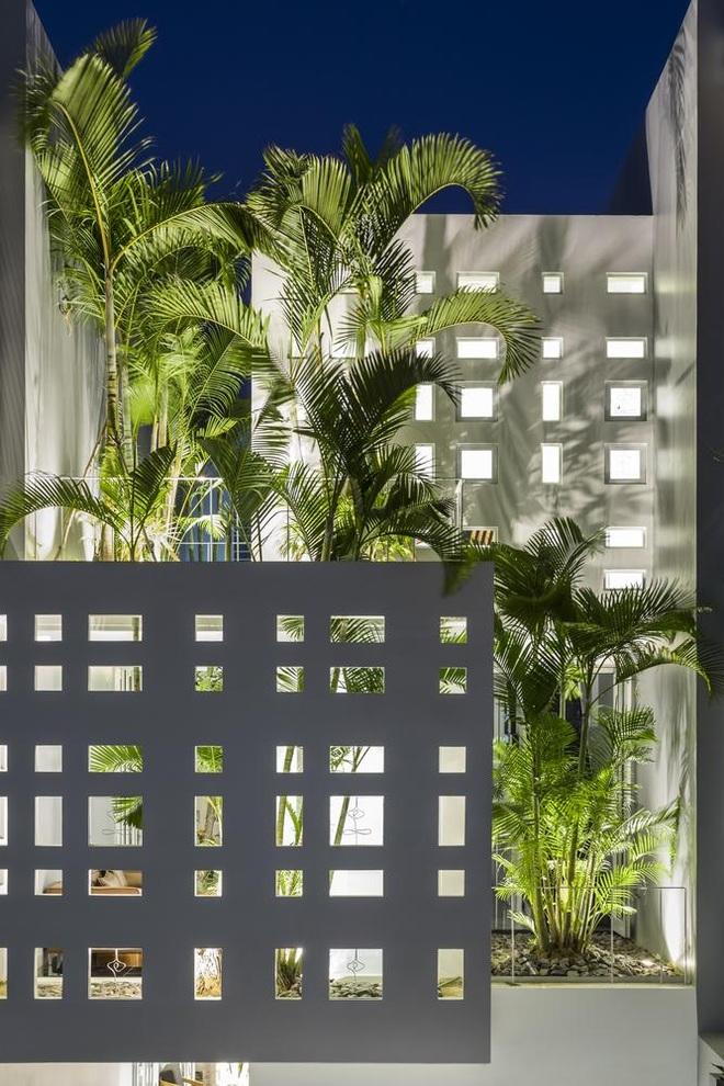 Thiết kế nhà độc đáo với 400 lỗ ánh sáng, tiền điện 250.000 đồng/tháng - 3