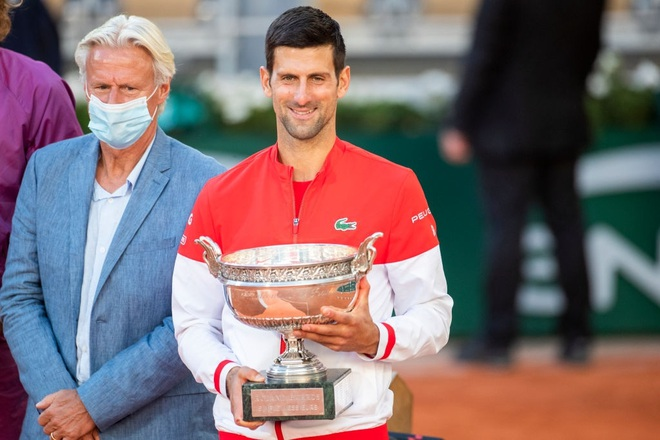 Những khoảnh khắc Djokovic vượt qua Tsitsipas để vô địch Roland Garros - 18
