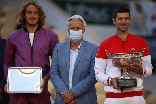 Những khoảnh khắc Djokovic vượt qua Tsitsipas để vô địch Roland Garros - 17