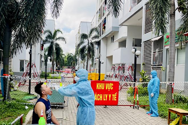 Thêm 33 ca nhiễm SARS-CoV-2, dịch lây lan ra các khu  trọ công nhân - 1